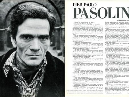 Pier Paolo Pasolini in dialogo con Dacia Maraini. Un'intervista del 1971