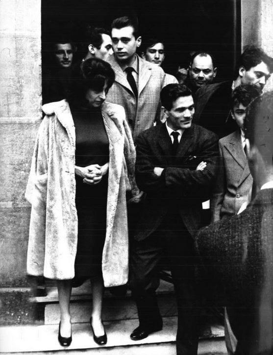 """La troupe del film di Pasolini """"Mamma Roma"""""""