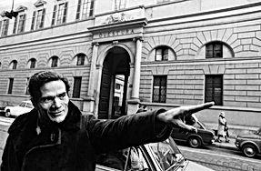 Pier Paolo Pasolini in Tribunale © Gideon Bachman