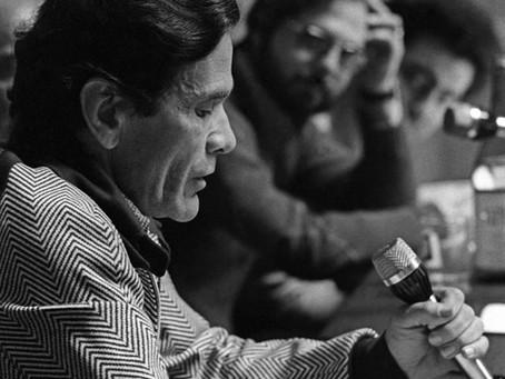 Cinecittà, 1961. Dibattito sulla censura cinematografica. Parla Pier Paolo Pasolini
