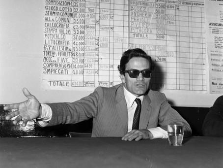 24 giugno 1974. Il vero fascismo e quindi il vero antifascismo. Pier Paolo Pasolini