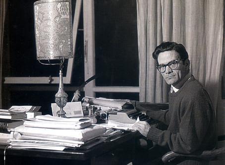 Pasolini parla del suo lavoro come critico letterario (1962)