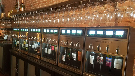 Our WineStation preservation and dispensing system!