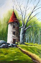 Le vieux moulin à vent !