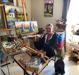 Guylaine L. Artiste peintre Thetford Mines