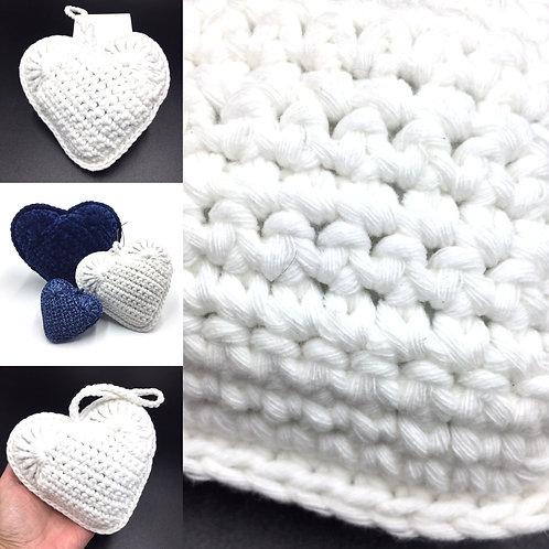 Coeur senteur Colombe, création originale Talichic fait main France