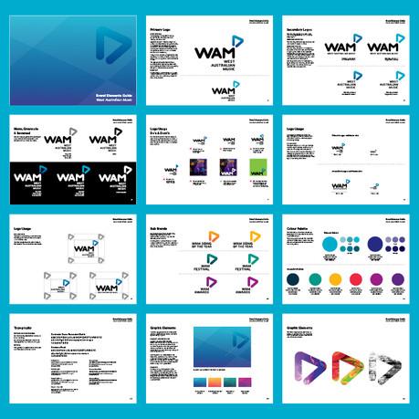 WAM brand guide