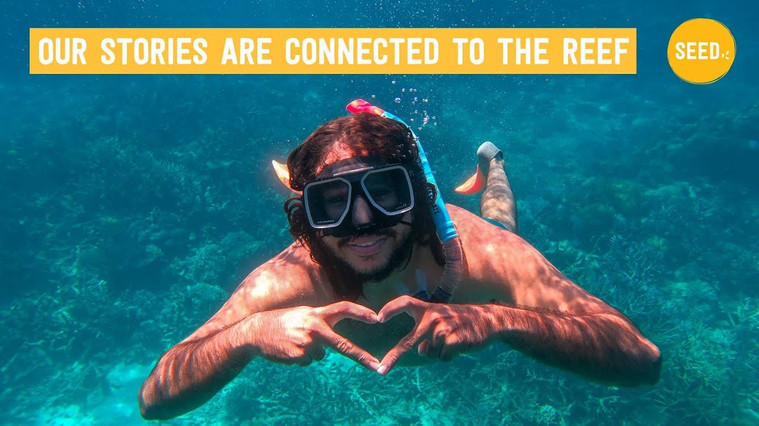 Our stories are connected to the reef