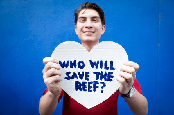 For the Love of the Reef photoshoot