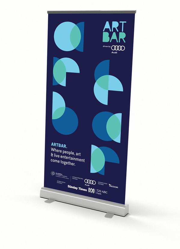 Artbar pullup banner