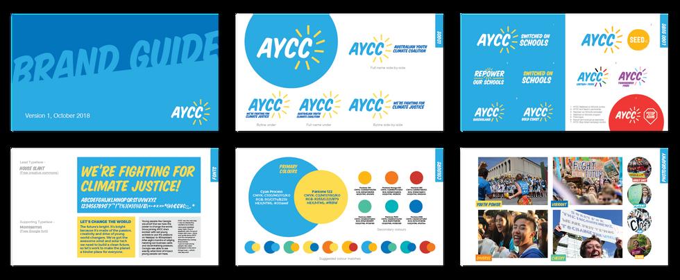 AYCC brand guide