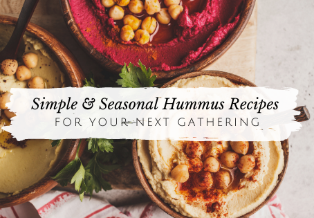 DIY Hummus Recipes: Fall/Winter Edition