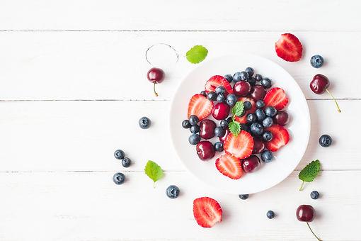 Bowl of healthy berries