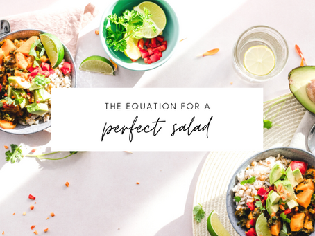 Step-by step process of creating the perfect salad
