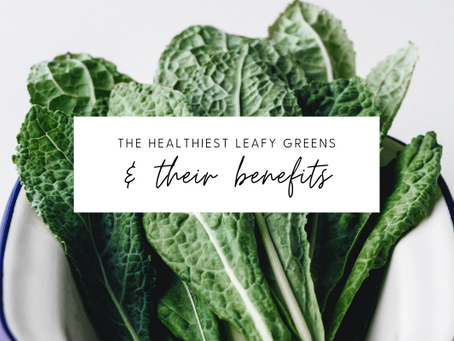 Six Types of Leafy Greens to Enjoy