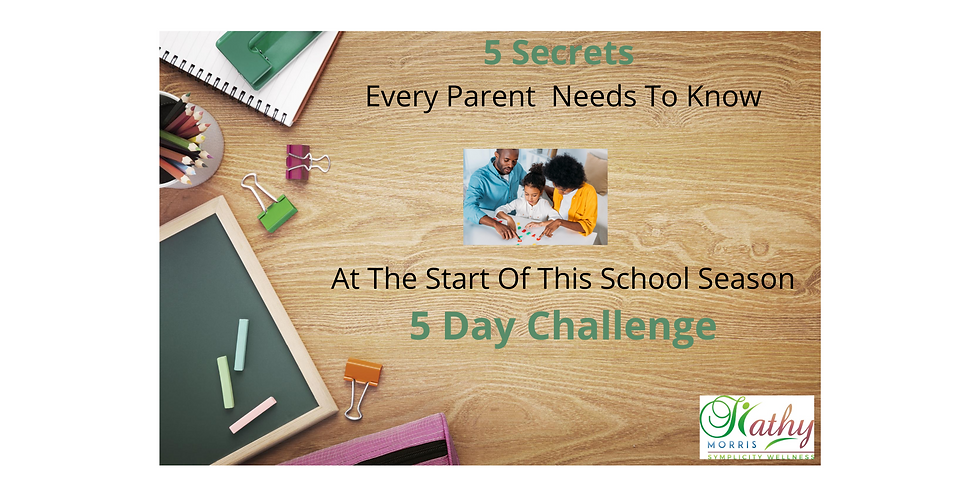 5 Secrets Every Parent Needs to Know At the Start Of This School Season