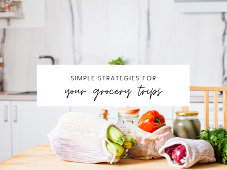 Simple Strategies for Your Grocery Trips