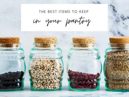The Best Healthy Items to Keep Stocked in Your Pantry
