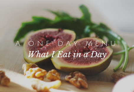 A One Day Menu Plan for Simple, Healthy Food Ideas