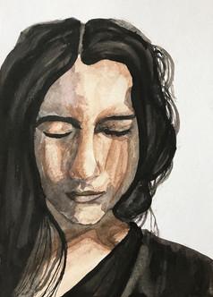 Ink Self Portrait 1