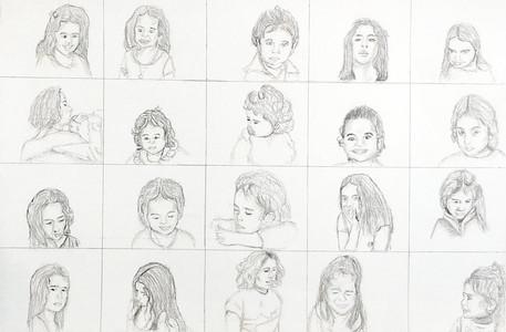 20 Self Portraits