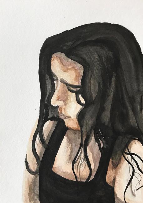 Ink Self Portrait 2