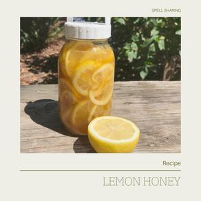 Recipe: Lemon Honey