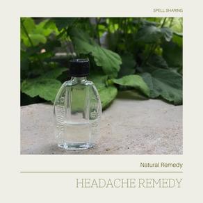 Natural Remedy: Headache Remedy