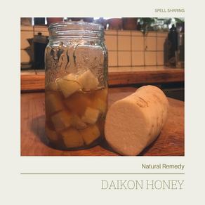 Natural Remedy: Daikon Honey