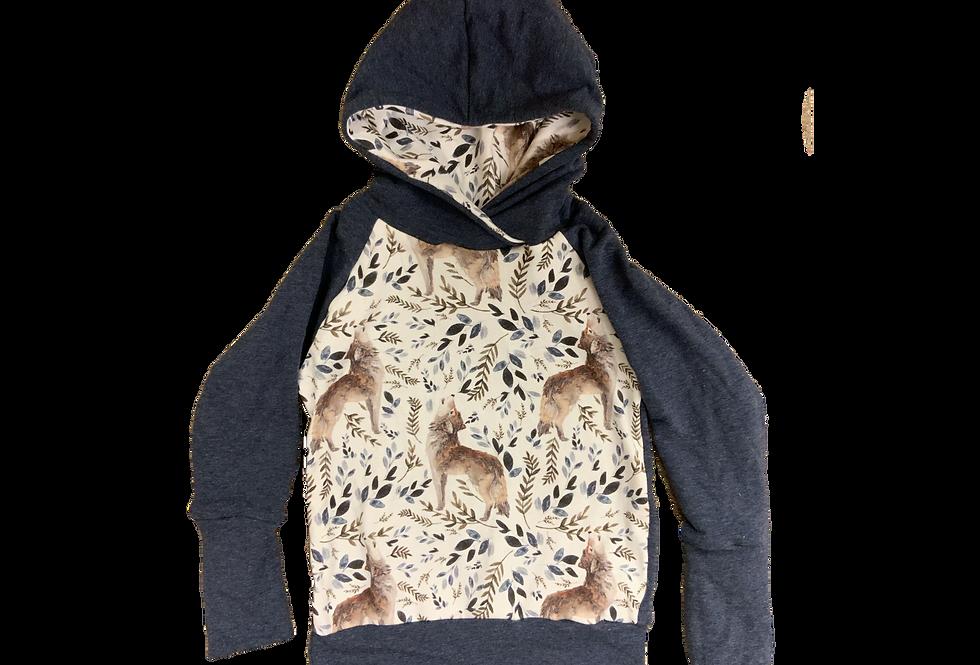 Wolf Pack Grow Hoodie