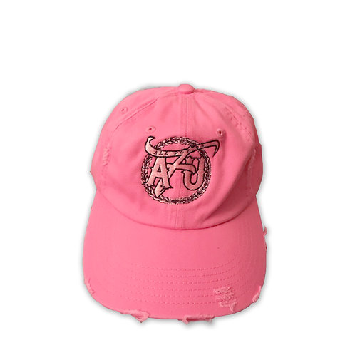 All For Us Dad Hat- Light Pink