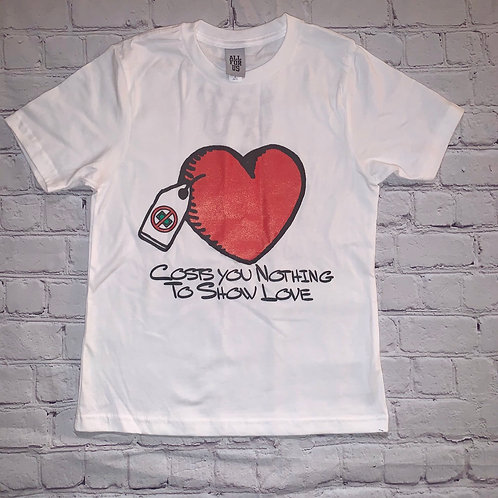Cost You Nothing Heart Tee (Kids)