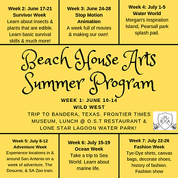 BHA 2019 Summer Program
