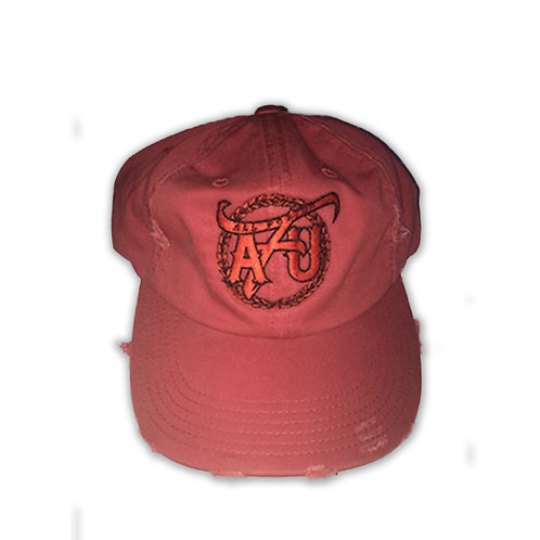 All For Us Dad Hat-Red