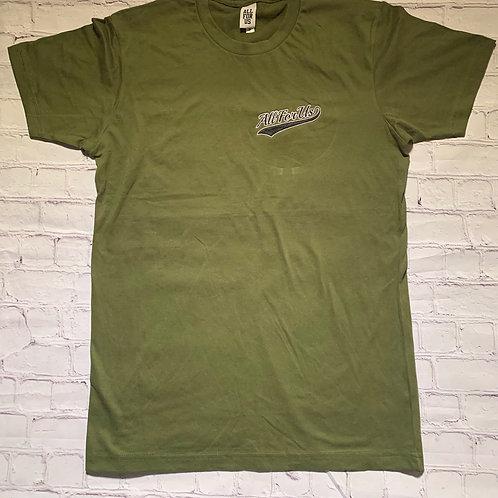 Cursive Embrodery Shirt