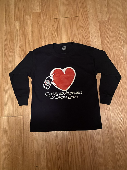 Costs You Nothing Heart Shirt (kids)