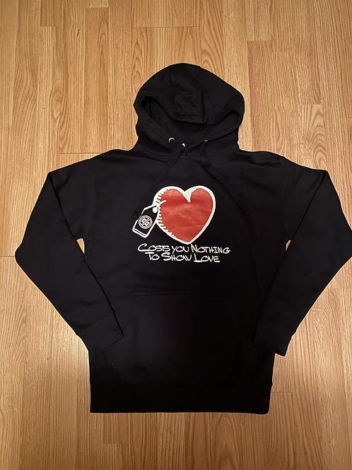 Costs You Nothing Heart Sweatshirt