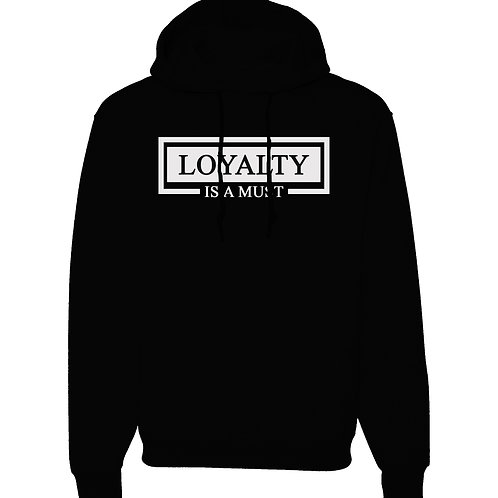 All For Us Loyalty Hoodie- Black