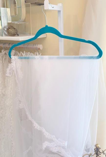 veil hanger, white lace veil, Alencon lace veil.cathedral veil