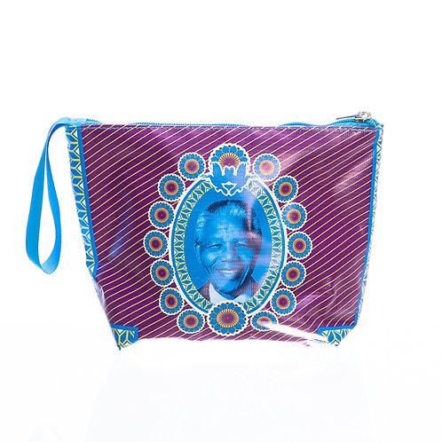 PVC Zip Pocket Bag - Mandela Shwe Shwe