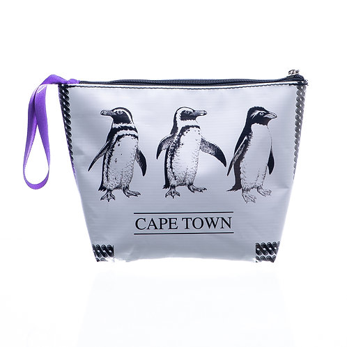 PVC Zip Pocket Bag - Penguin