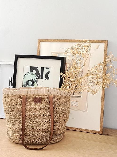 eco yarn sling bag