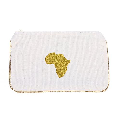 Cream Canvas Pocket