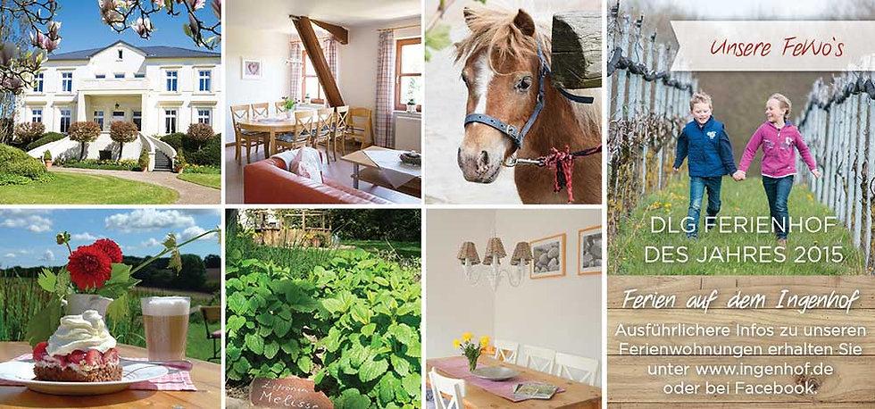 DLG Ferienhof des Jahres nahe der Ostsee in der Holsteinischen Schweiz