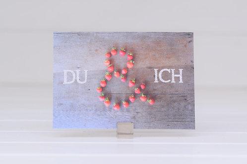 "Postkarte ""Du & Ich"""