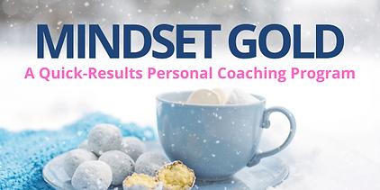 Mindset Gold Website Newsletter graphic.