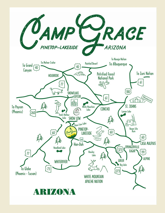 Roadmap to Camp Grace