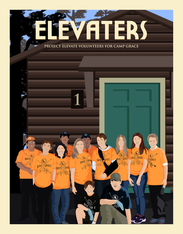 """Elevaters"" are Project Elevate and Camp Grace Volunteers"