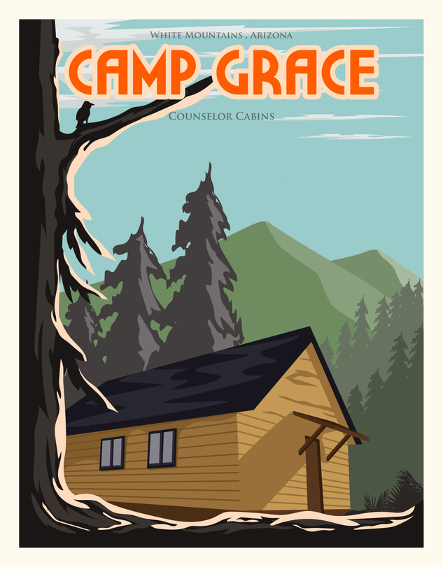 "Camp Grace ""Counselor Cabins"" (2) Sleep 26 each"