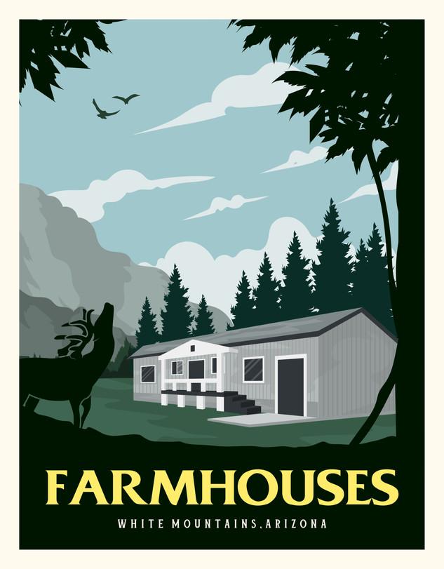 Camp Grace Supervisor Farmhouses (2) Sleep 6-8 each.